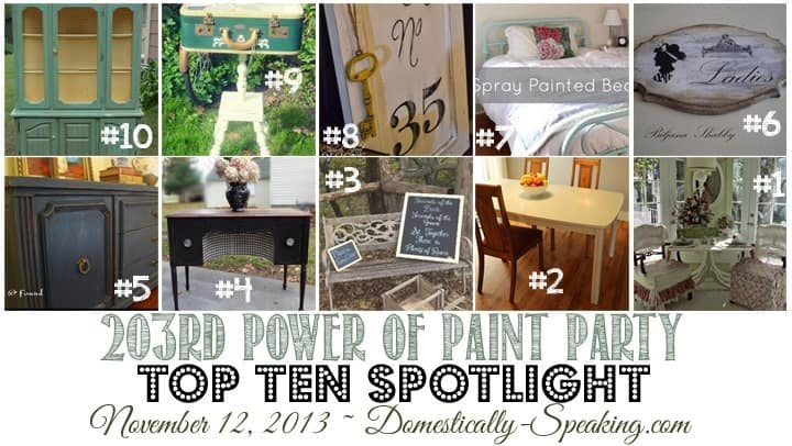 Power of Paint Party ~ come share your paint project