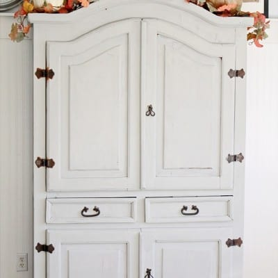 Roadside Armoire Makeover