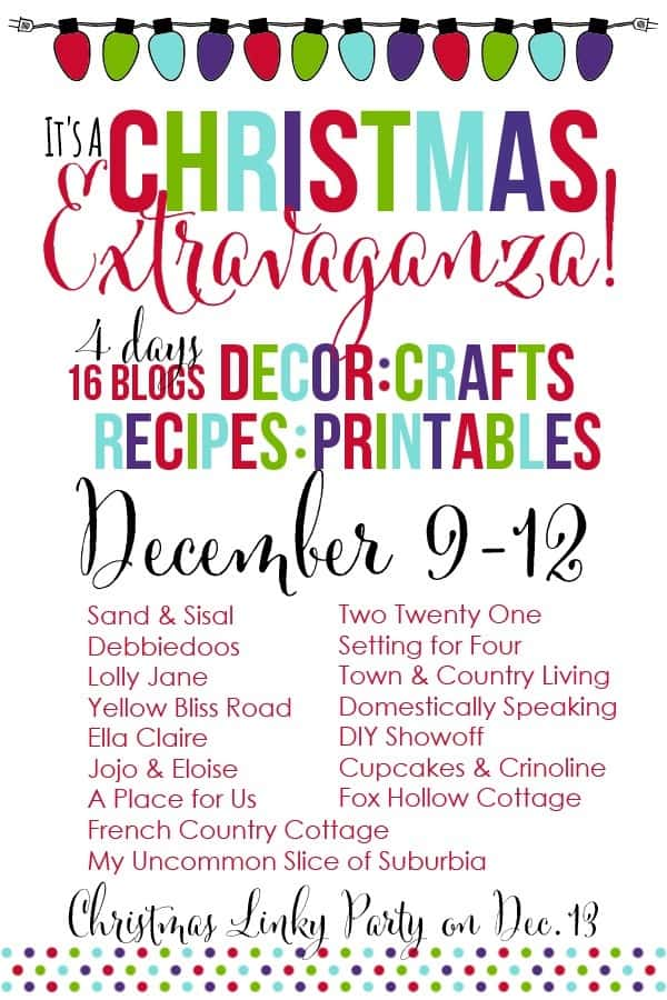Christmas Exravaganza Blog Hop and Linky Party