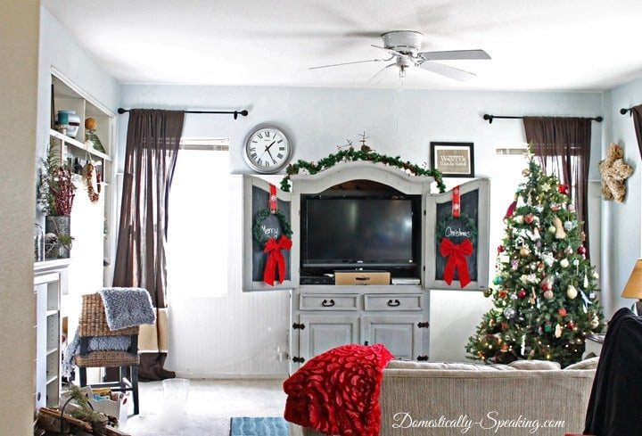 Christmas Home Tour Family Room