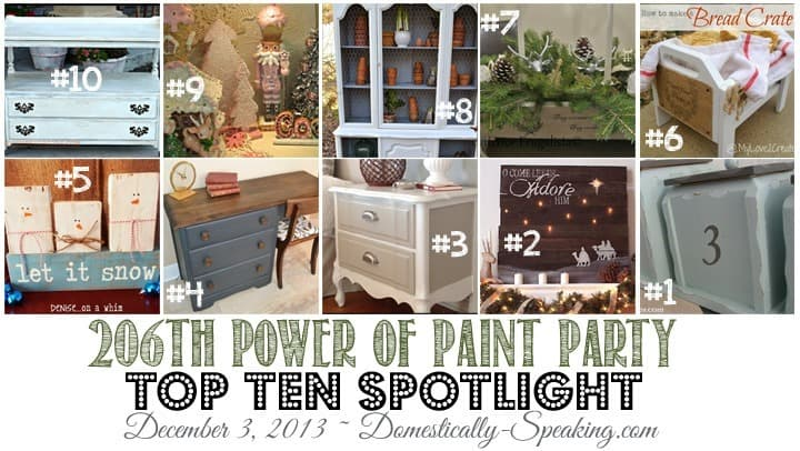 This week's Power of Paint Party Spotlight