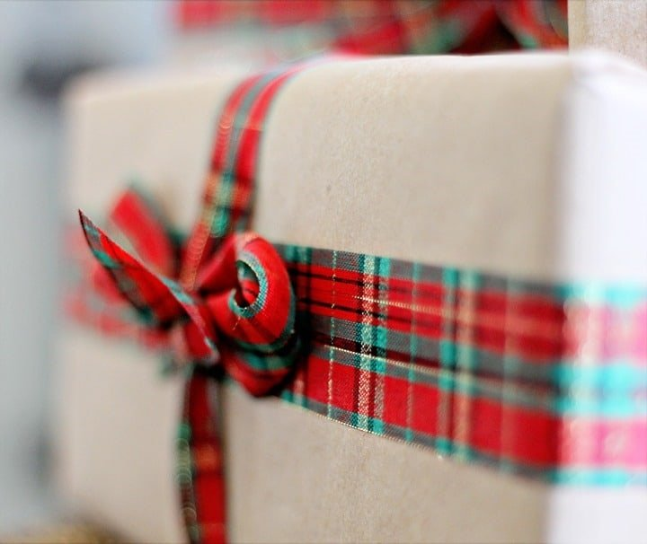 Brown Paper Packages Christmas Wrapping Paper ~ Rustic Glam Christmas