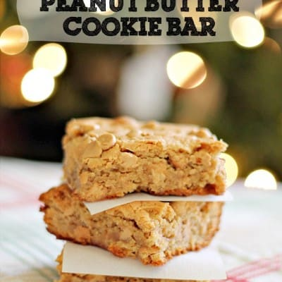 The Ultimate Peanut Butter Cookie Bars