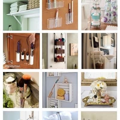 12 Bathroom Organization Ideas