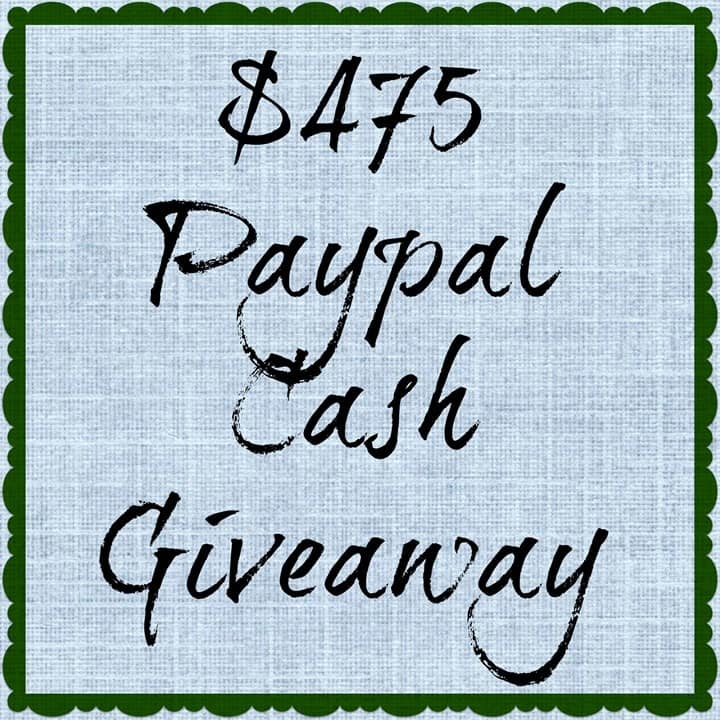 $475 CASH Giveaway at Domestically-Speaking.com