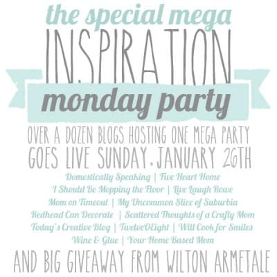 Mega Inspiration Party and Giveaway