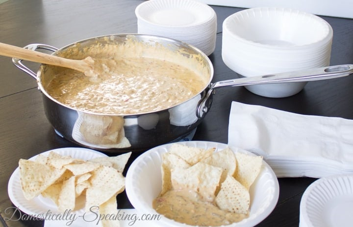 Mexican Bacon Cheeseburger Dip  #ChooseSmart, #shop, #cbias