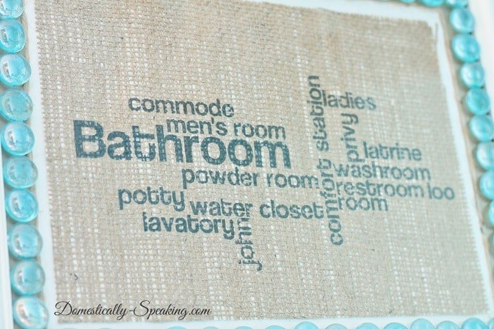 bathroom burlap 2