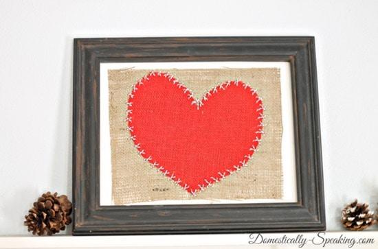 burlap heart 4