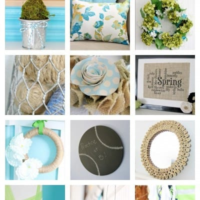 12 Spring Craft Ideas