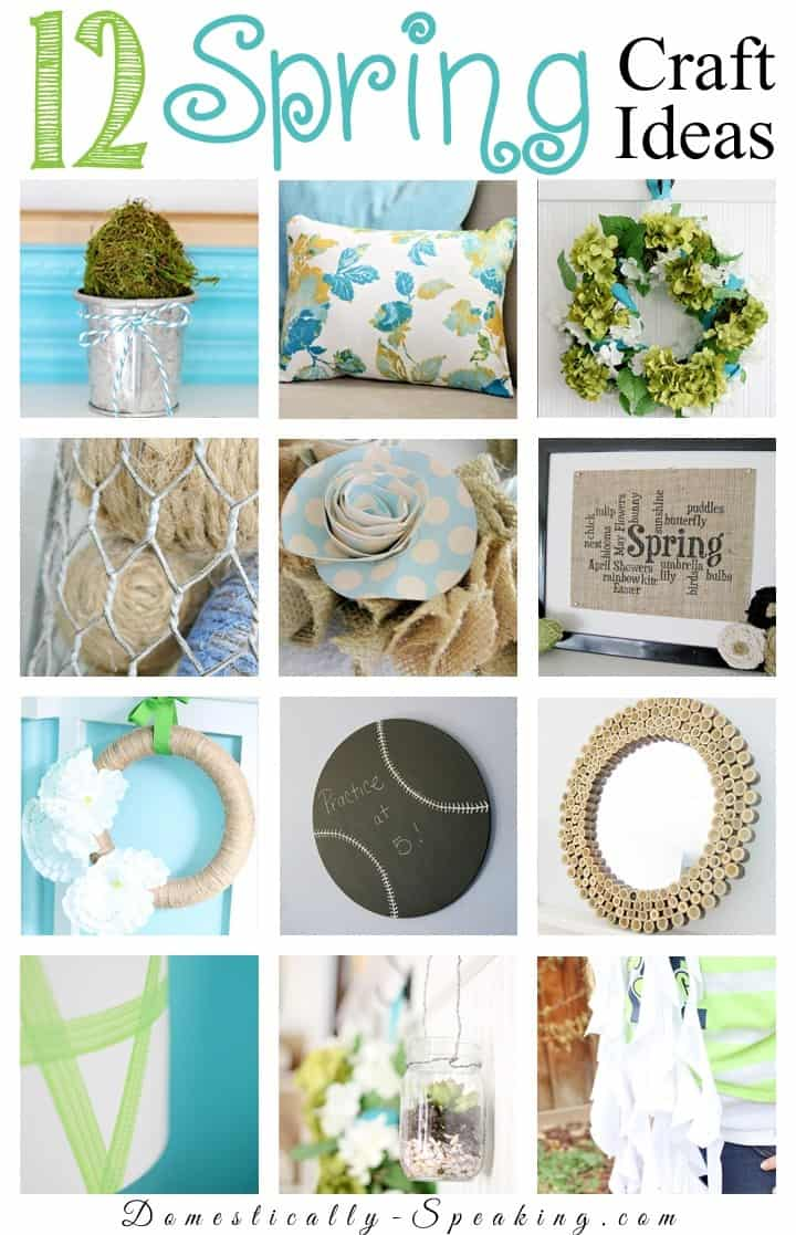 12 Spring Craft Ideas