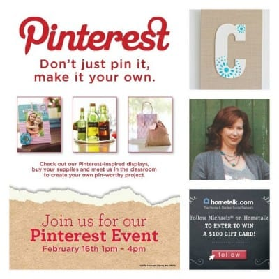 Come hang out with me ~ Pinterest Party!