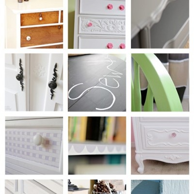 12 Painted Furniture Pieces