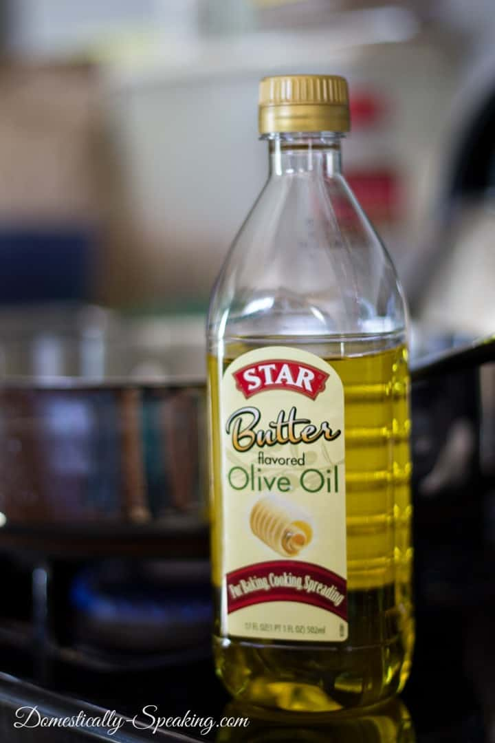 Butter flavored olive oil