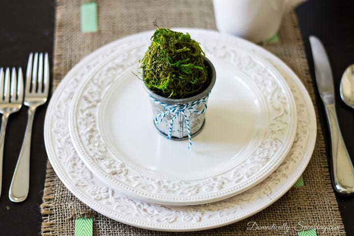 Spring Tablescape and Place Setting Giveaway