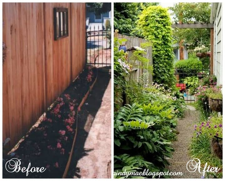 Beautiful yard makeovers from Rindy Mae