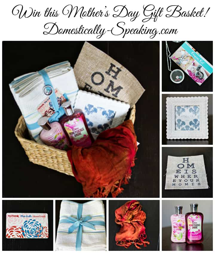 Mothers Day Gift Basket Pin