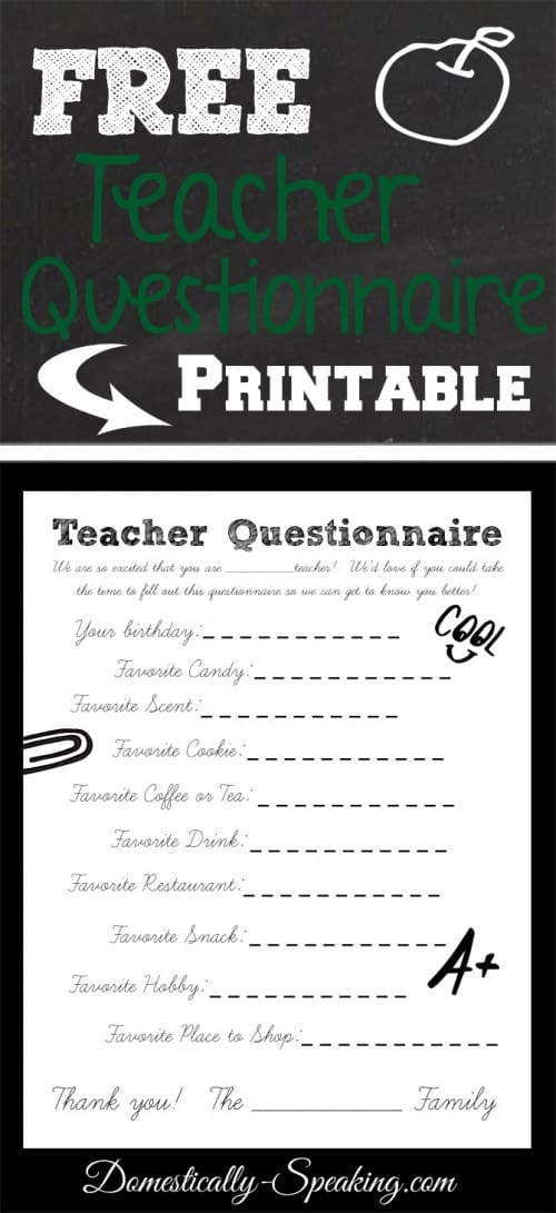 spoken language questionaire Standing spoken _____ students in this class write teacher questionnaire 9 19 do you have a library or reading corner in your.