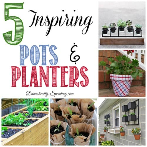 5 Inspiring Pots and Planters