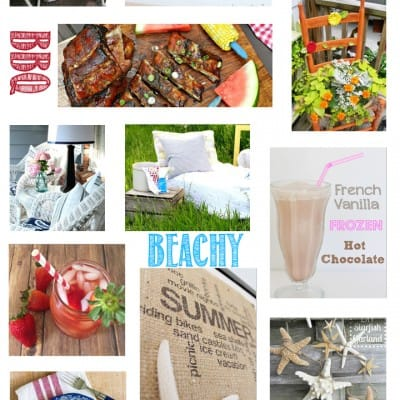Summer Decor, Crafts and Recipes with All Things Creative