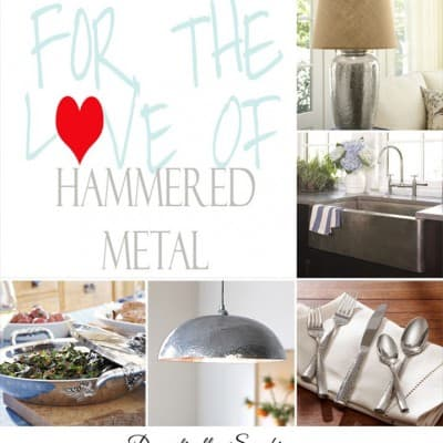 For the Love of Hammered Metal