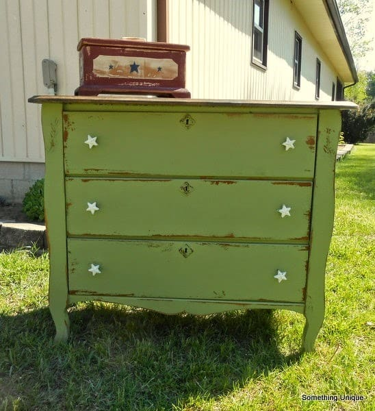 Green Dresser from Crafty in Canada