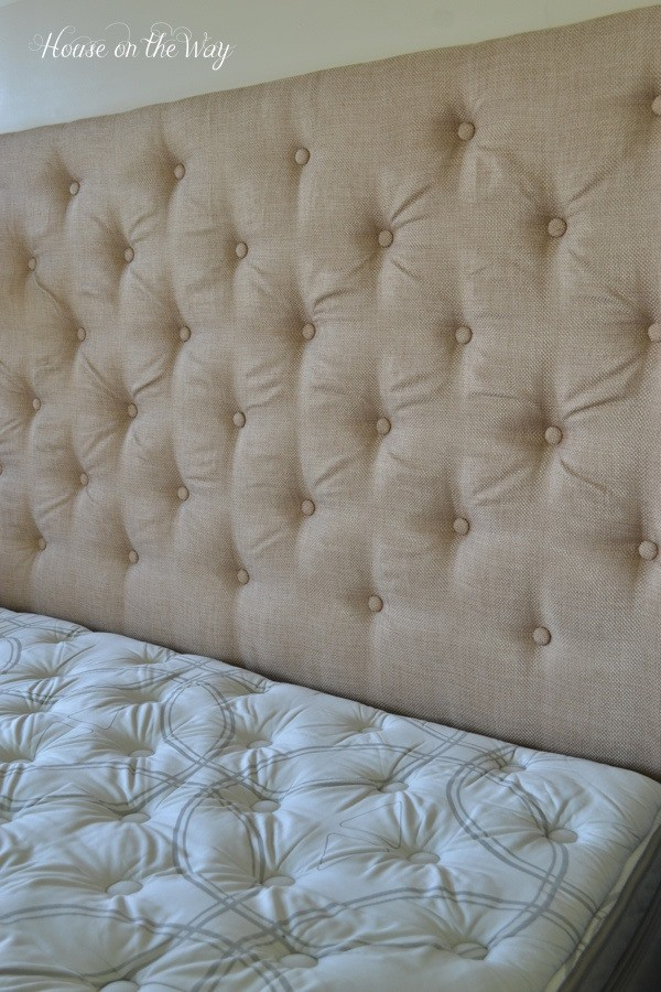 House on the Way's Tufted Headboard