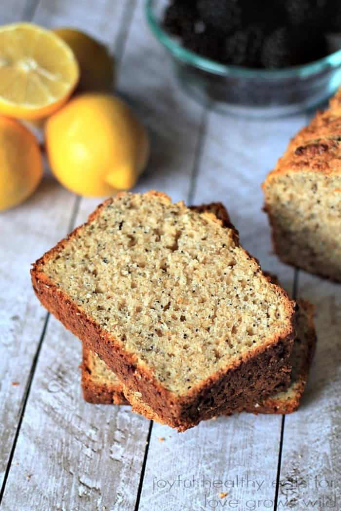IMM Lemon Poppyseed Bread with Chia Seeds from Love Grows Wild