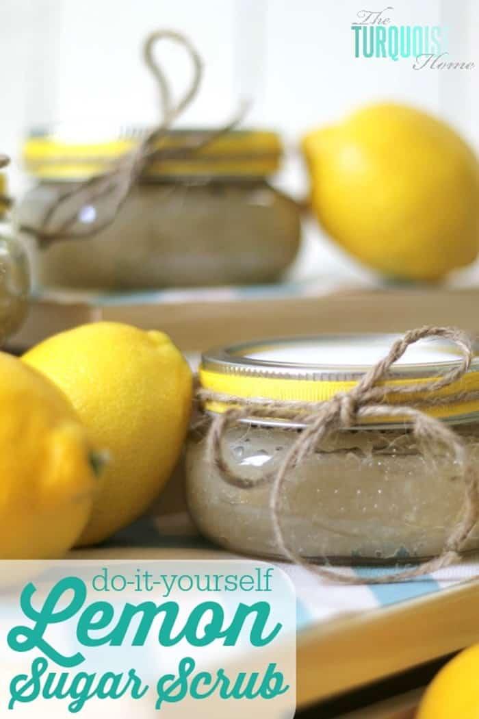 IMM Lemon Sugar Scrub from The Turquoise Home