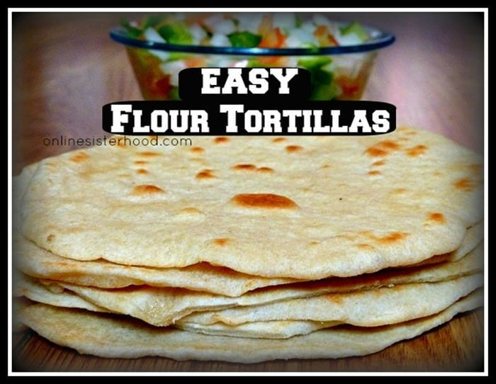 Online Sisterhood's Flour Tortillas