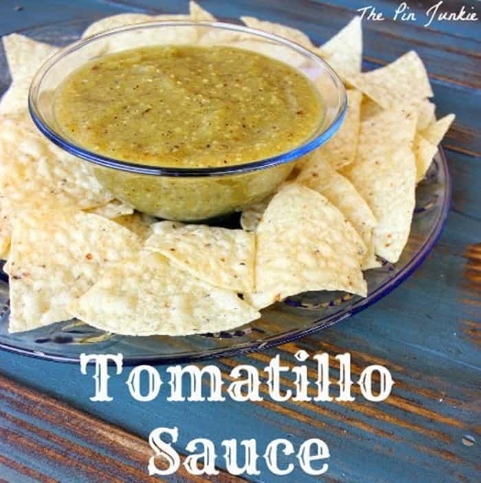 The Pin Junkie's Tomatilla Sauce