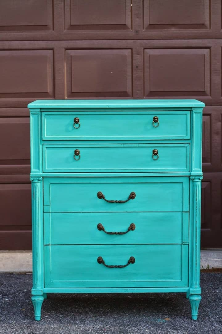 Patina Green Dresser from Primitive and Proper