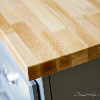 Preparing Your Butcher Block Countertops