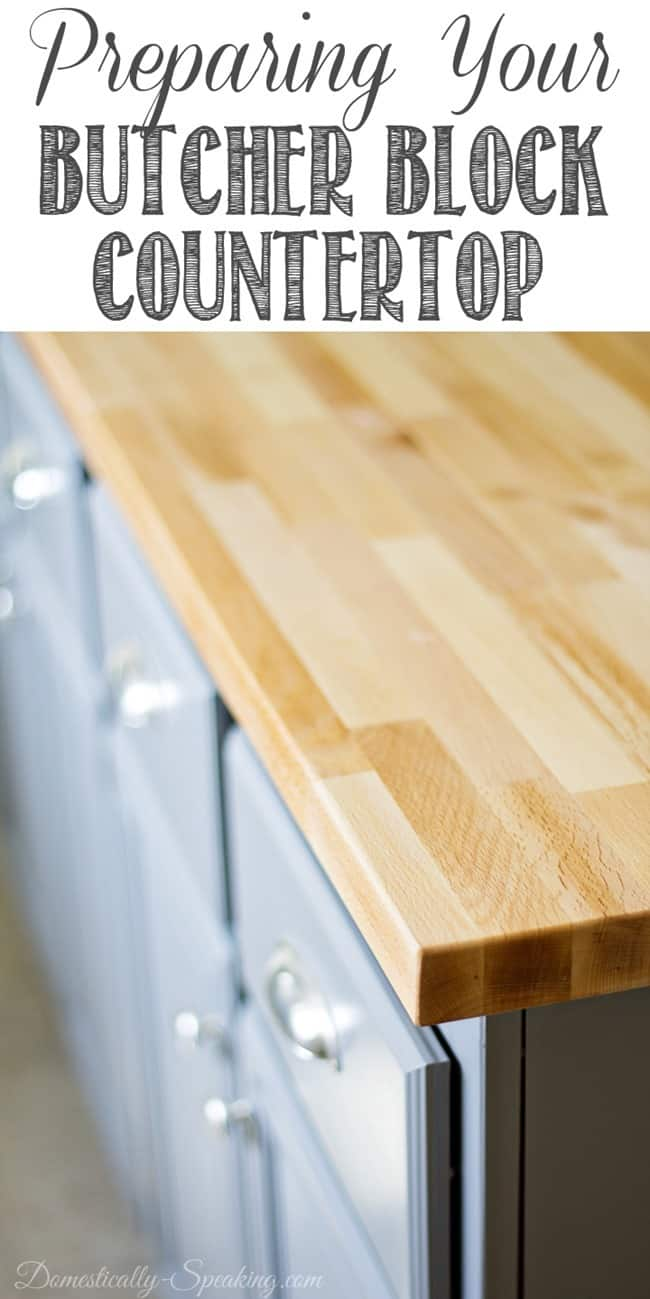 Prepping Your Butcher Block
