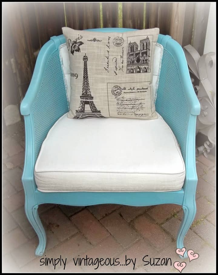 Updated Chairs with Paint from Simply Vintageous