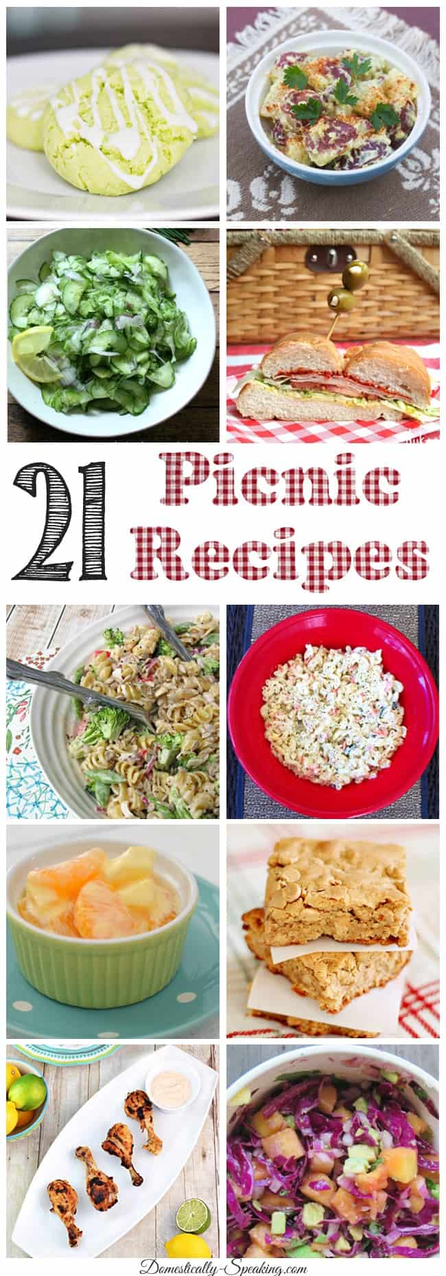 21 Picnic Recipes