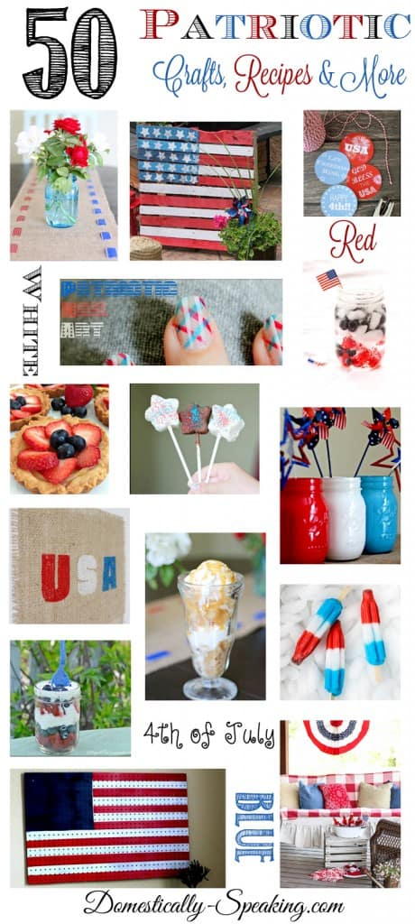50 Patriotic Crafts Recipes Decor