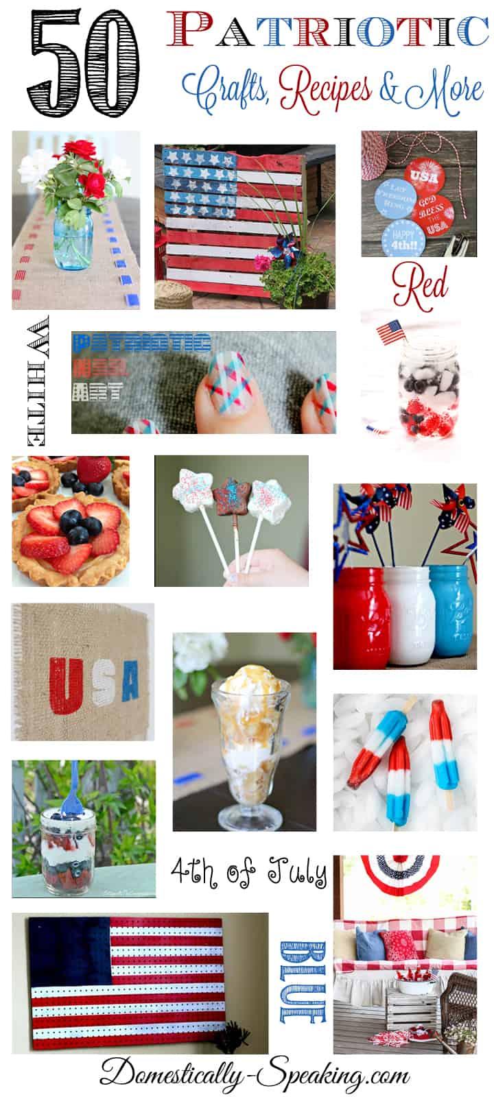 50 All Things Patriotic