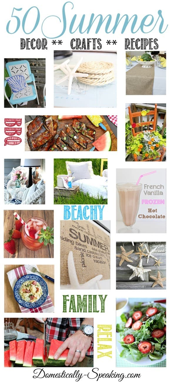 50 Summer Decor Crafts Recipes