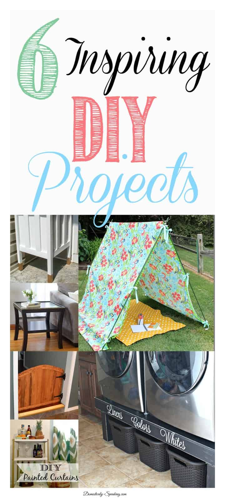 6 Inspiring DIY Projects perfect for the weekend!