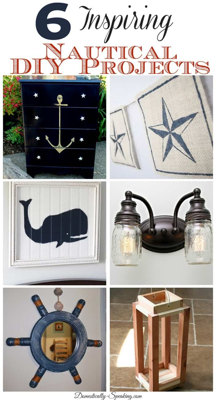 6 Inspiring Nautical DIY Projects