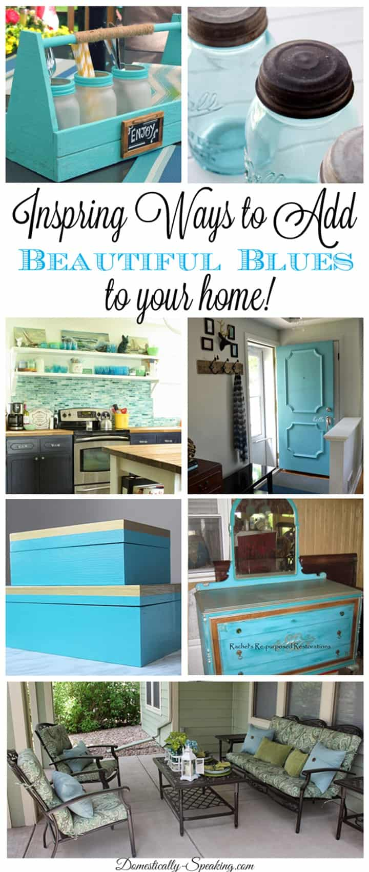 7 Inspiring Ways to Add Beautiful Blues to Your Home