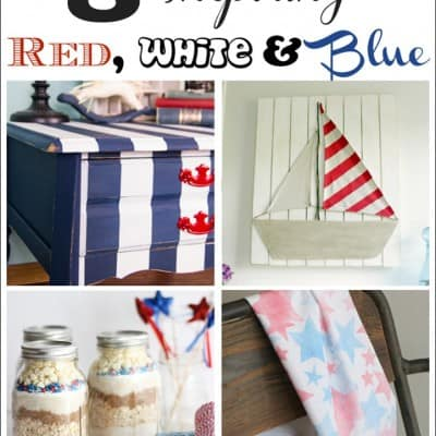 8 Inspiring Red, White and Blue Goodies