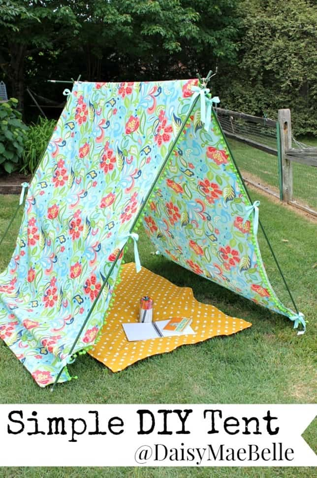 DIY Simple Tent from Daisy Mae Belle