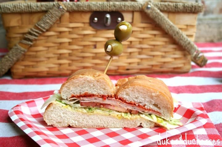 Italian Picnic Sandwich from Dukes and Duchesses