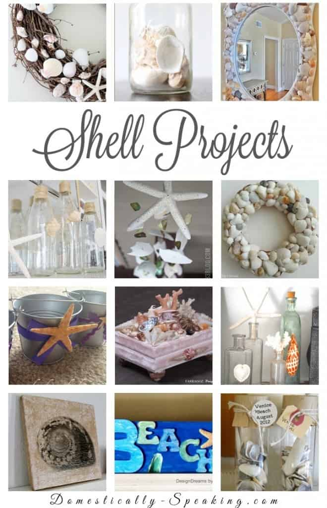 Diy seashell projects domestically speaking for Seashell art projects