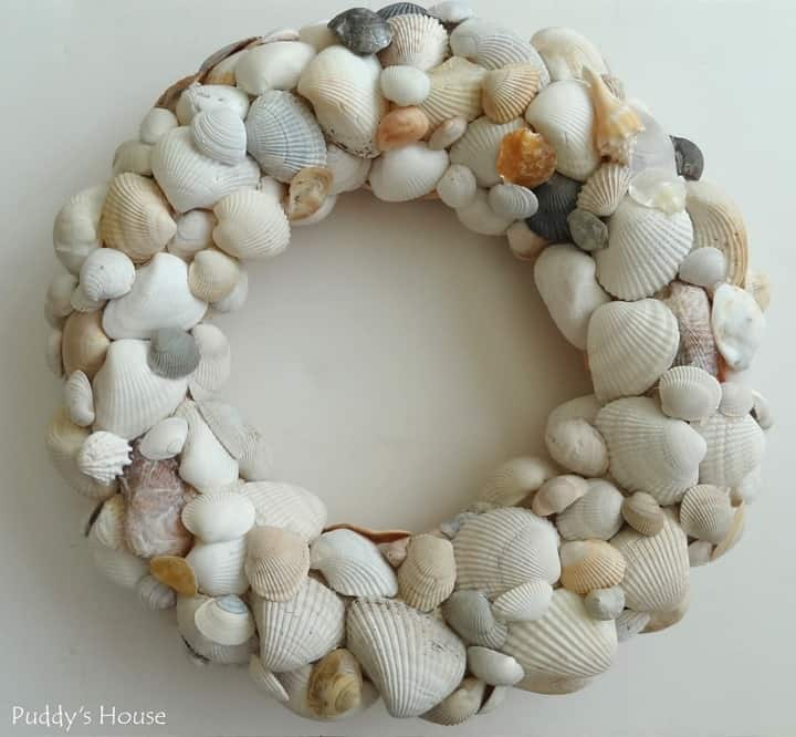 Shell Wreath from Puddys House