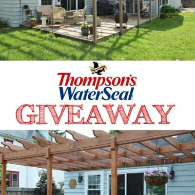Thompson's WaterSeal Giveaway