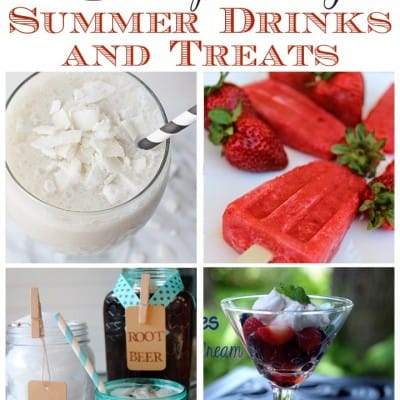 8 Refreshing Summer Drinks and Treats from Feature Friday