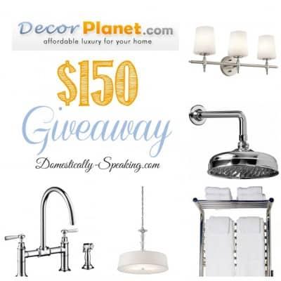 $150 DecorPlant.com Giveaway
